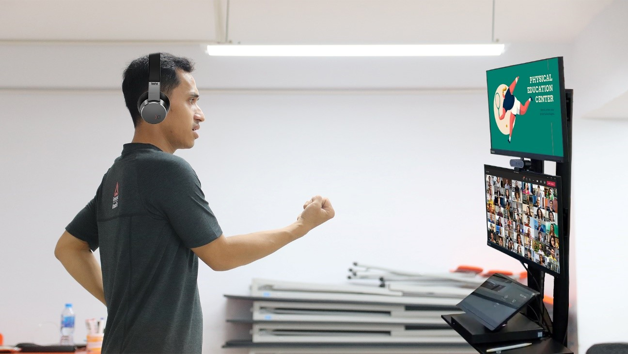 Lenovo's EdVision Empowers Educators To Expand Online Teaching Capabilities Online teaching